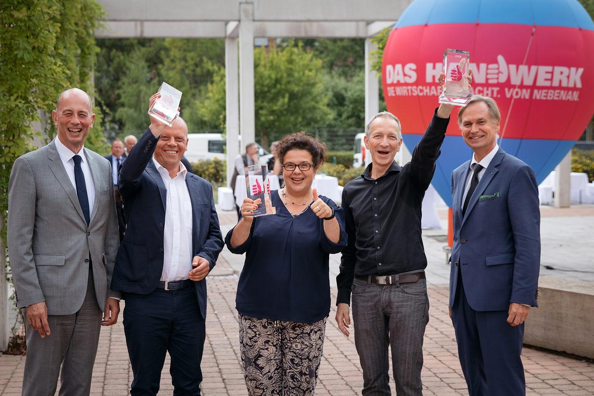 Zukunftspreis 2018 Vergeben Handwerkskammer Erfurt